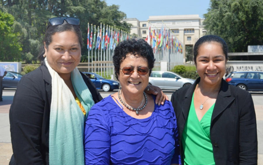 Cooks' trio learning diplomacy