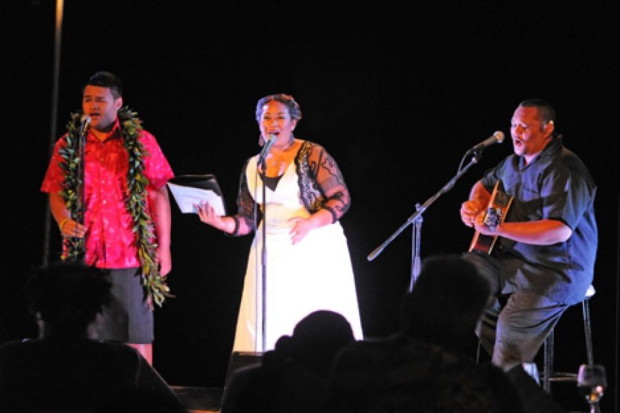 Opera singer wows Rarotonga audience