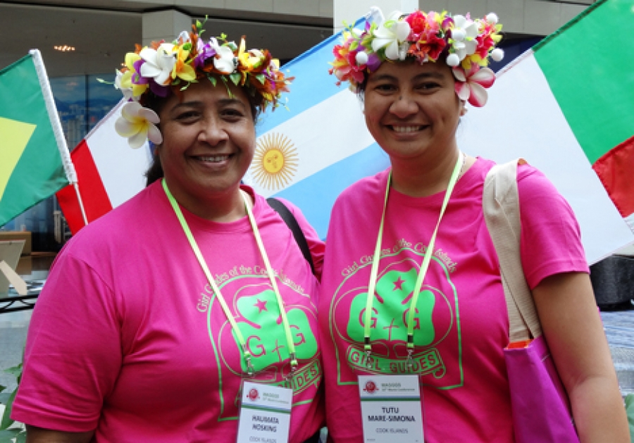 World membership for Cook Islands Guides