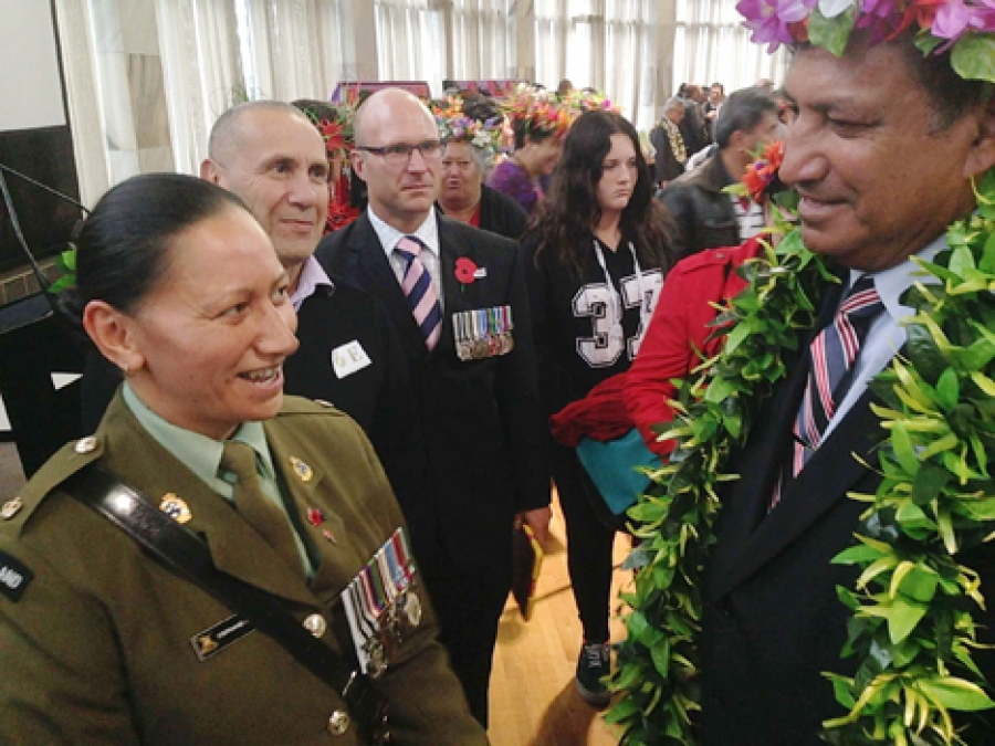 Call to uphold values our soldiers fought for