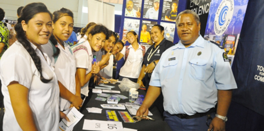 Careers expo gives students a buzz