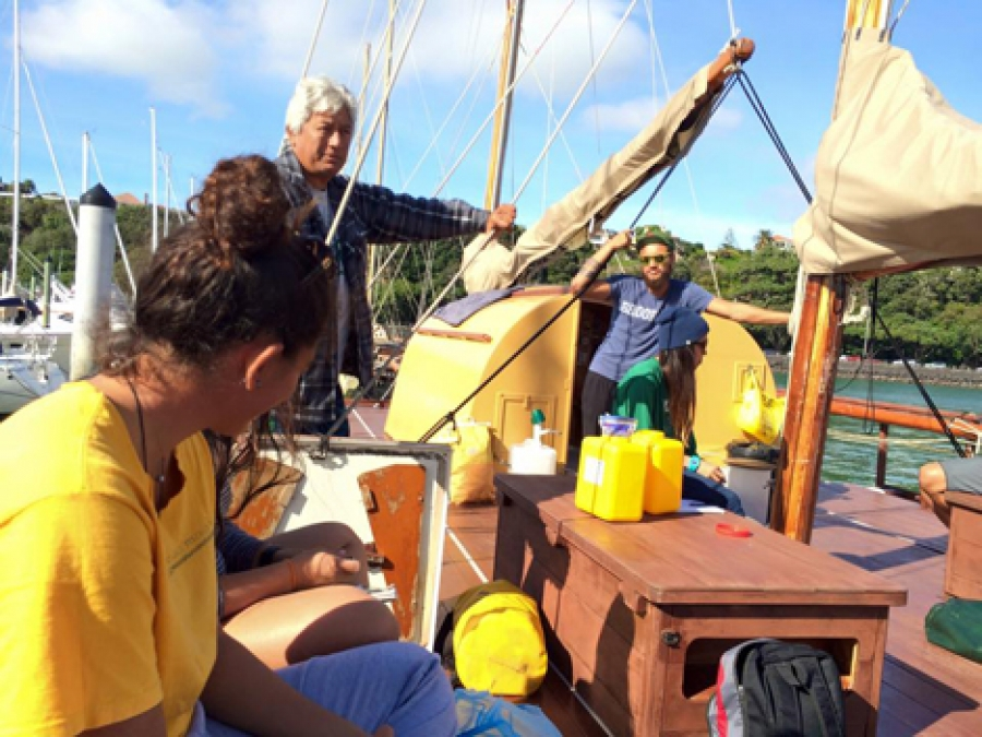 Pacific voyagers sail to join Te Manava Vaka festival