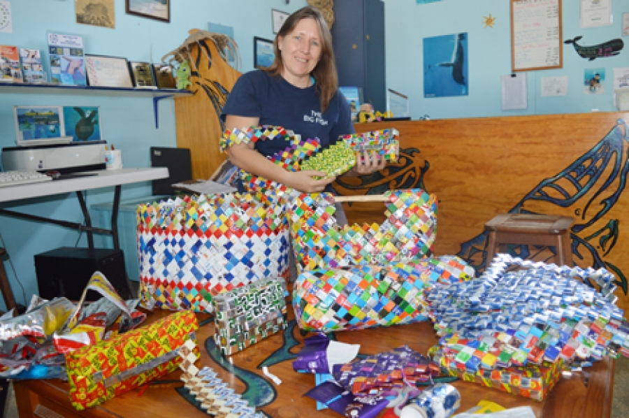 Creations give plastic new life
