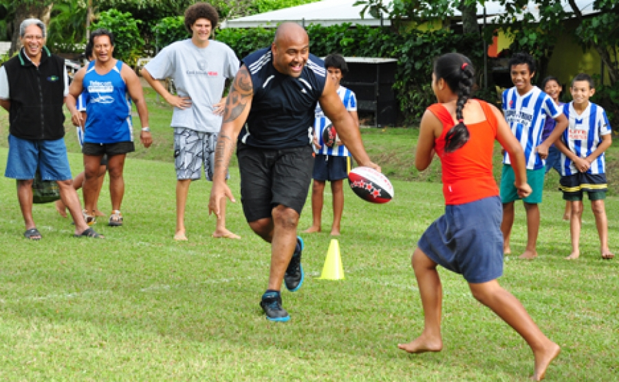 Rugby mourns shock loss of Lomu