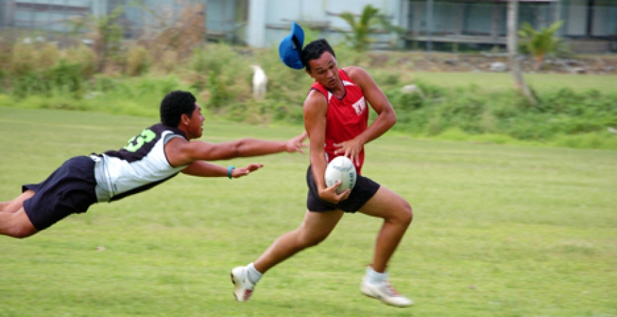 Exciting start for touch competition