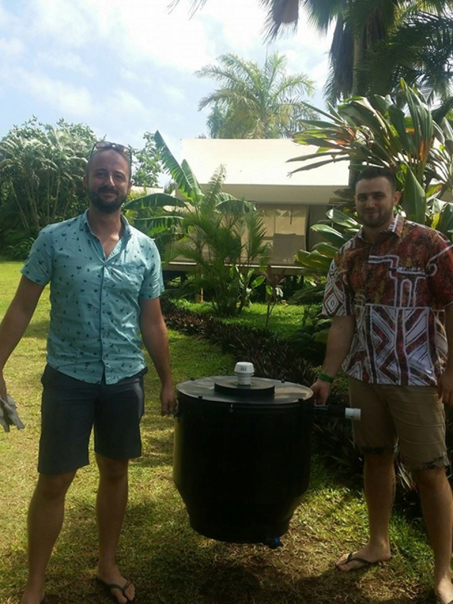 Composting toilet really does the job…
