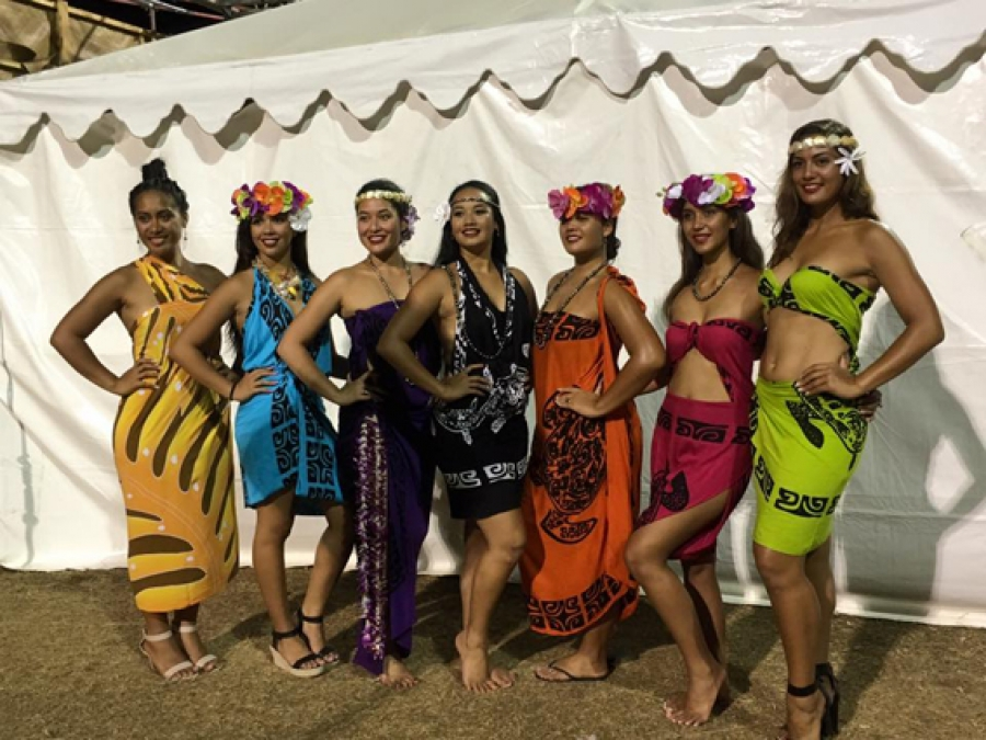 Cinat Takes Part In Fashion Show Cook Islands News