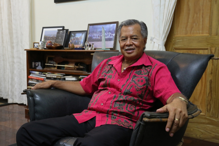 Henry Puna is the new Secretary General of the Pacific Islands Forum