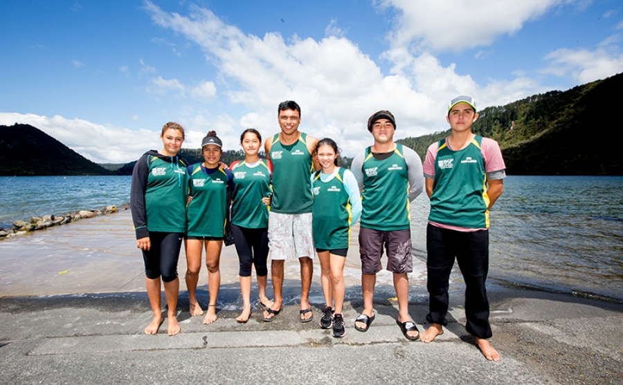 A dream day for young CI paddler