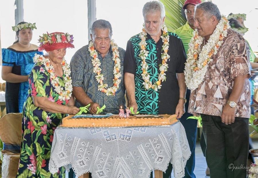 Aitutaki airport marks 75th year