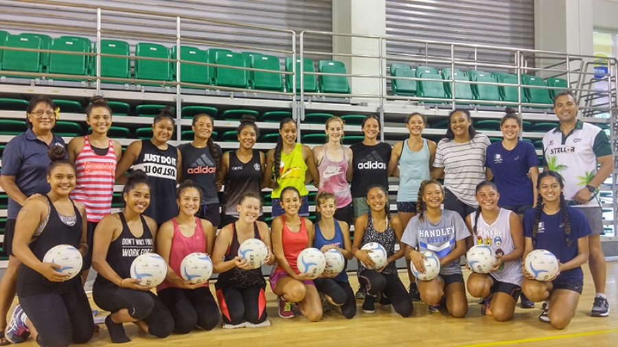 First session of National Netball Academy