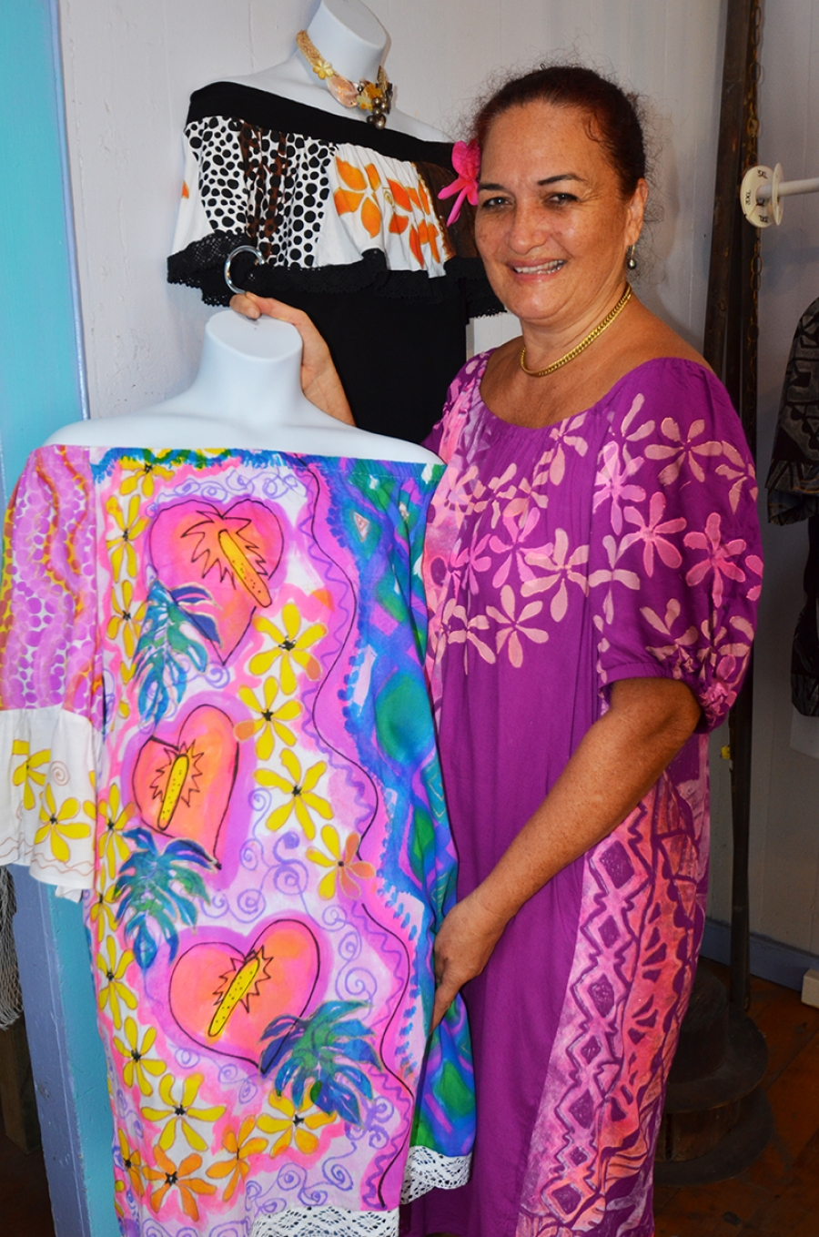 Gina's wearable works of art