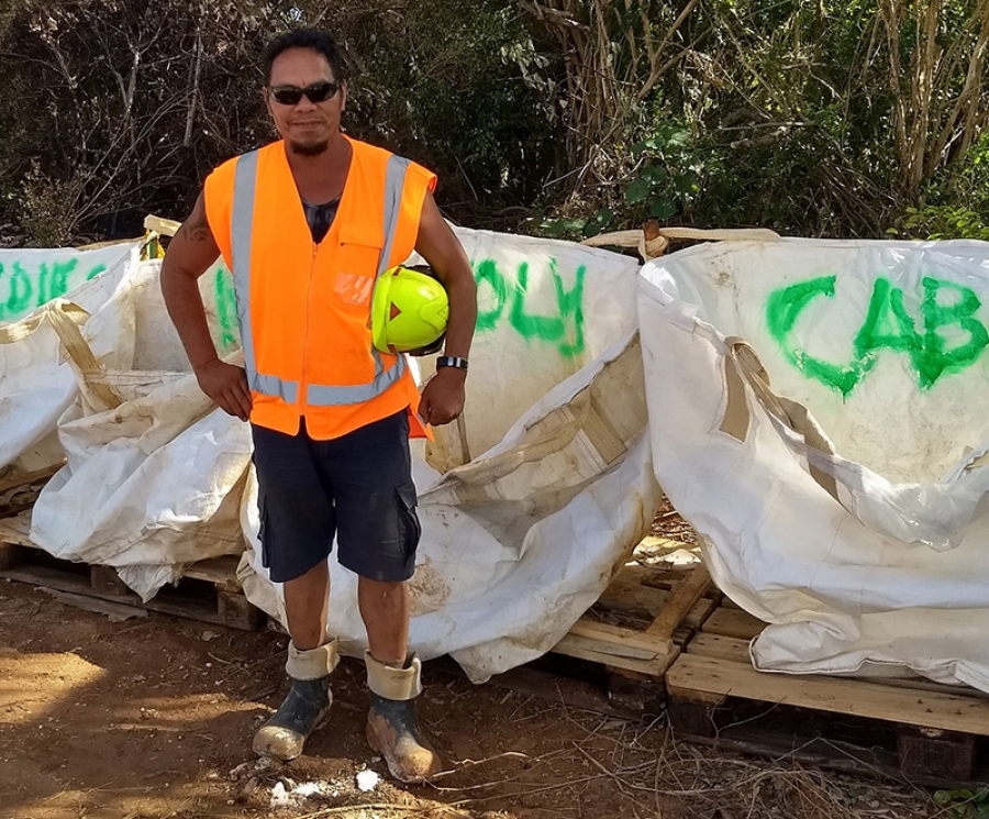 Project leads way in waste management