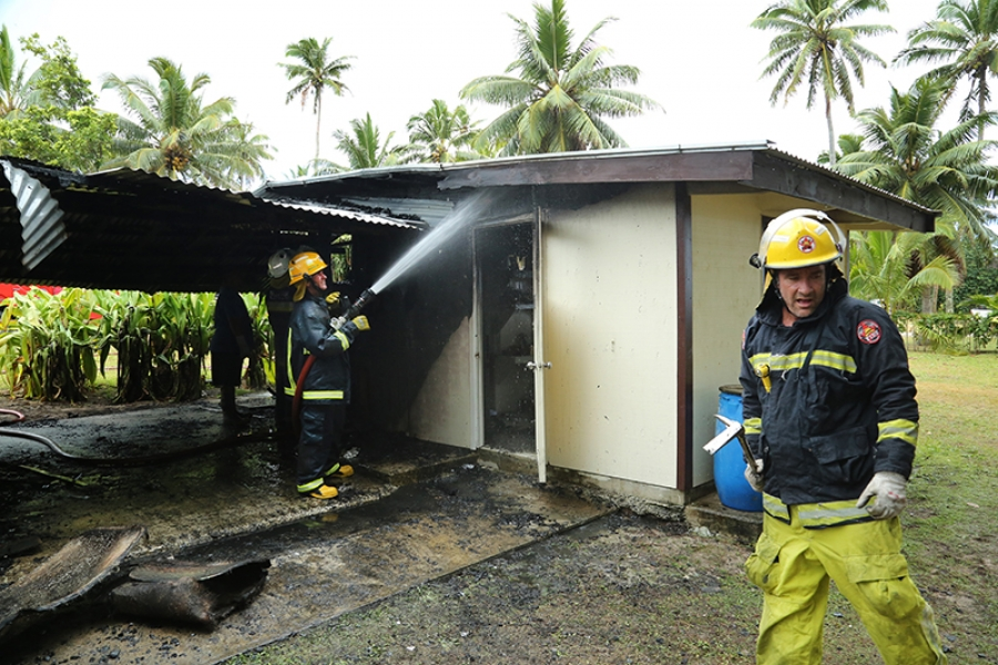 Two afternoon house fires in Titikaveka