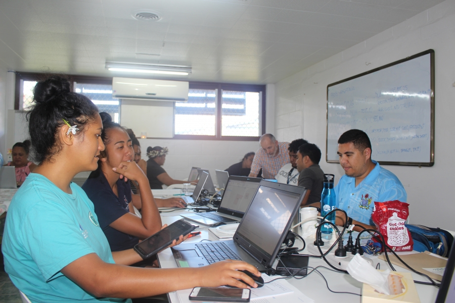 Ministries trained in real-time mapping software