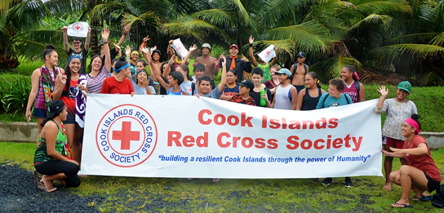 Red Cross youth reach new heights