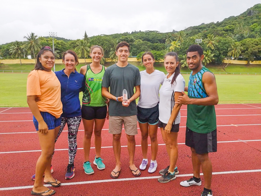 Six new coaches for Athletics Cook Islands