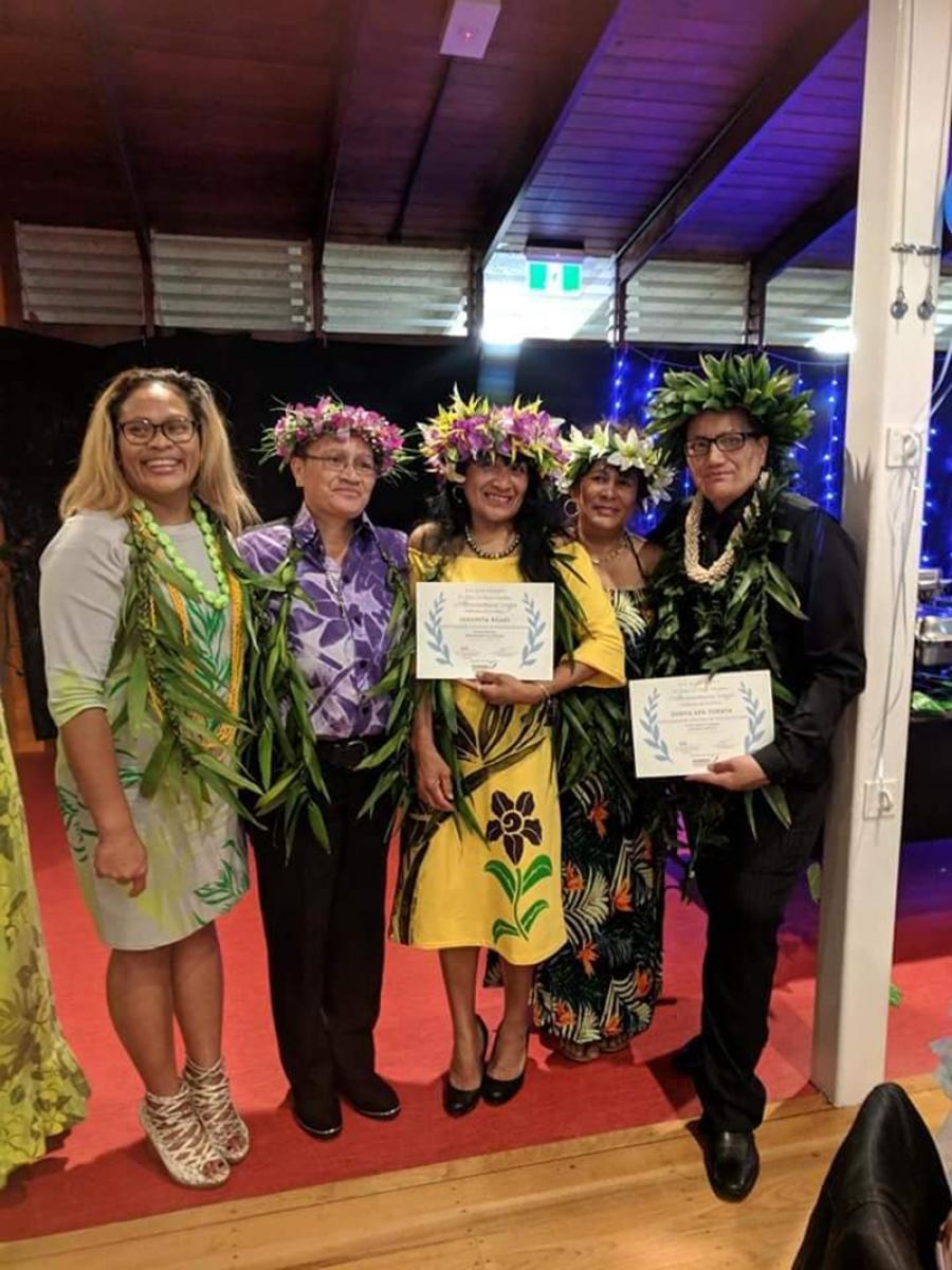 Kia Rangatira Cook Islands graduates' dinner