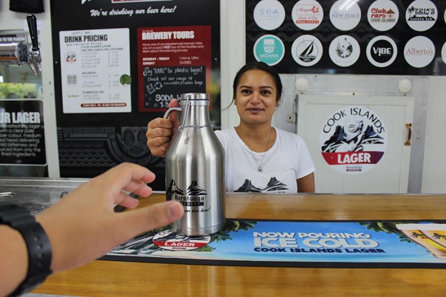 Rarotonga Brewery celebrates milestone