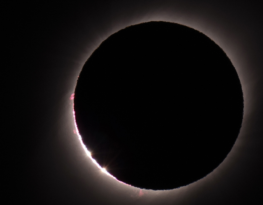 Solar eclipse a 'joy' to see