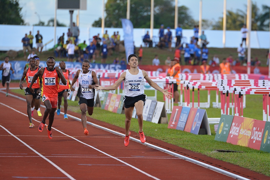 Beddoes sets  new national  800m record