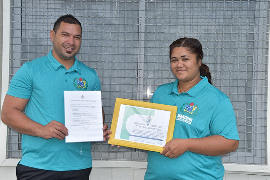 Outer islands get biosecurity officers