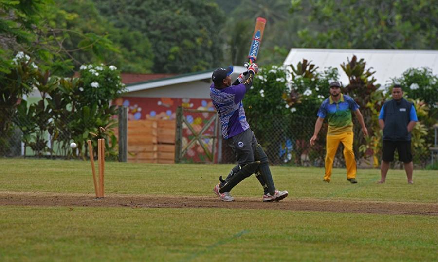 Cricket in safe hands