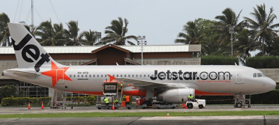 Jetstar up in the air