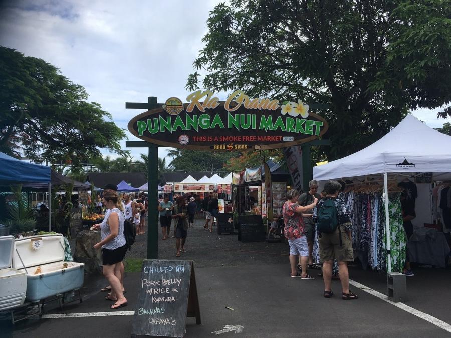 Partial closure of Punanganui market