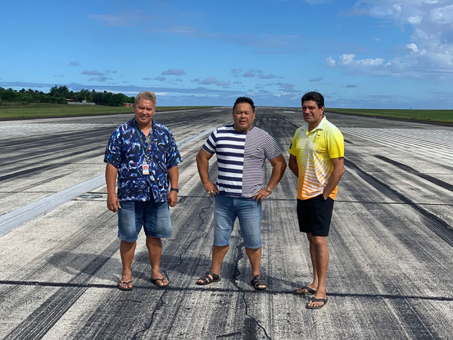 Concrete plans for airport in Covid-19 crisis