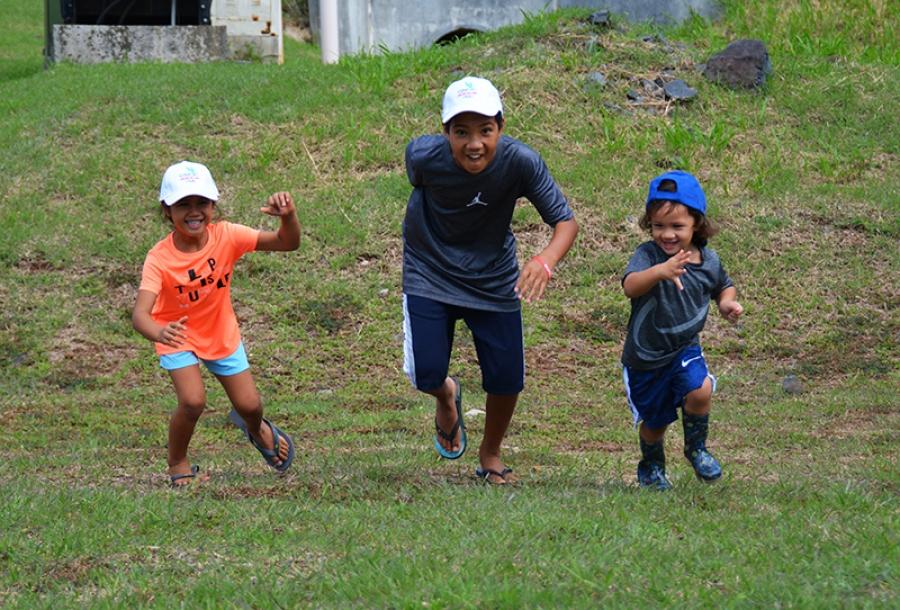 The game is on! Island-wide treasure hunt gets underway