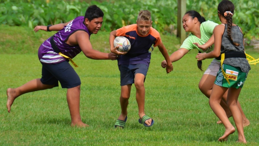 School rugby: Catch me if you can