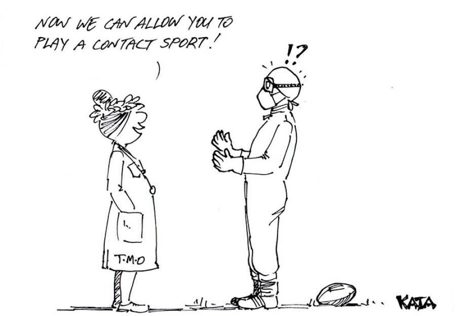 Kata: Contact sports
