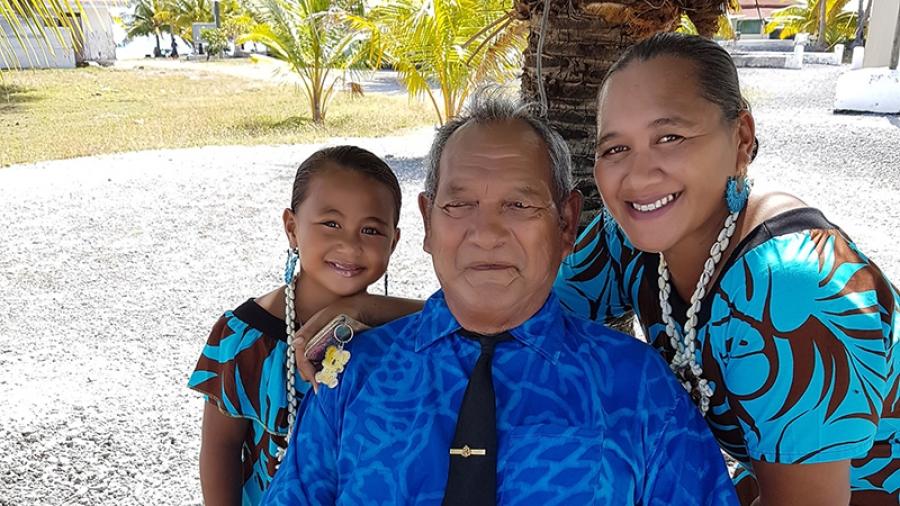 Papa Saitu a man of patience