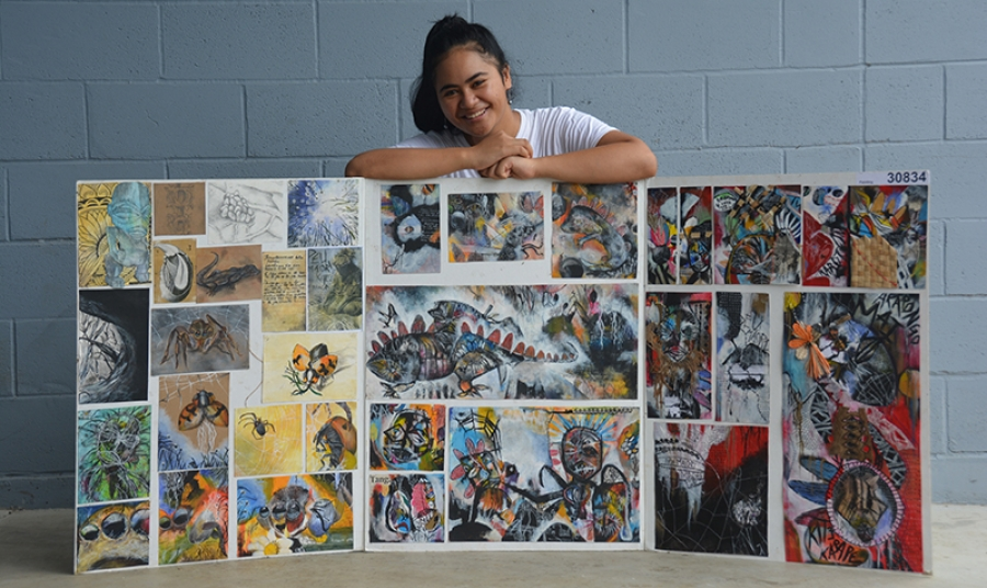 Through the eyes of an artist: Young painter wins acclaim