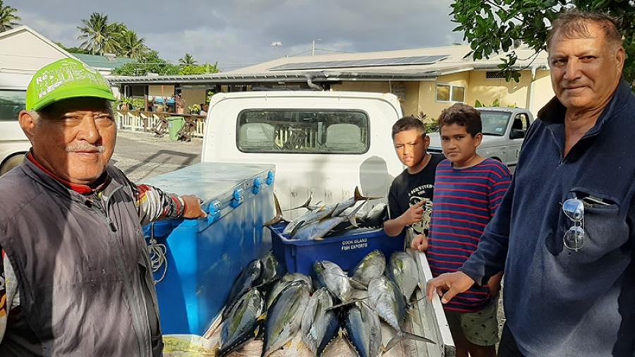 Fish galore at yellowfin tuna event
