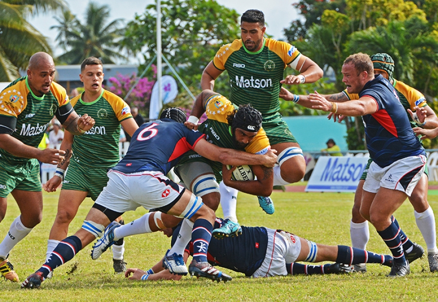 Tough path to Rugby World Cup