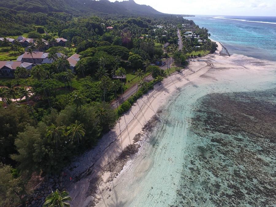 Coastal protection work in Vaima'anga extended