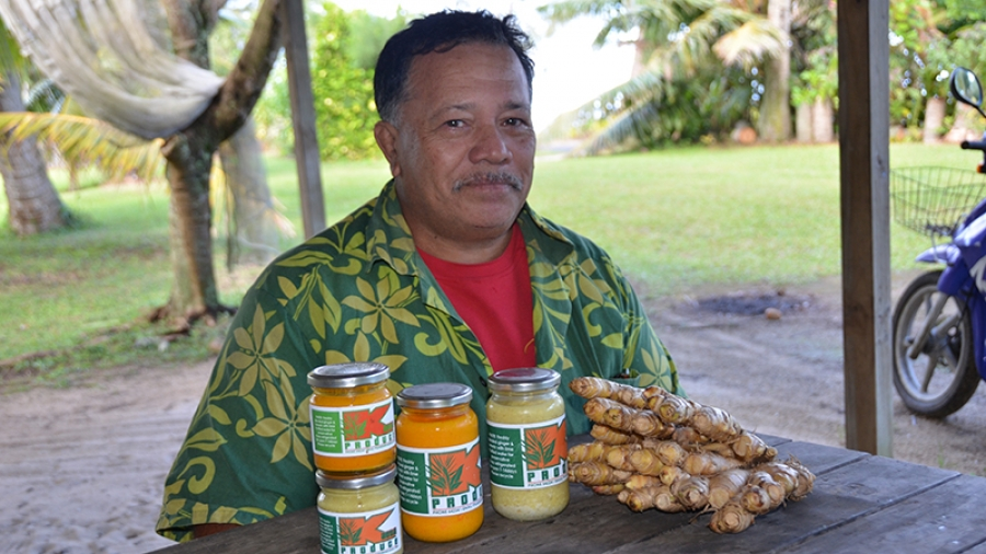 Cook Islands' own Ginger Spice