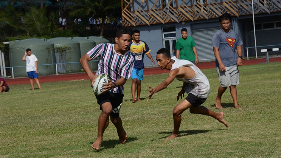 Touch rugby skills impressive