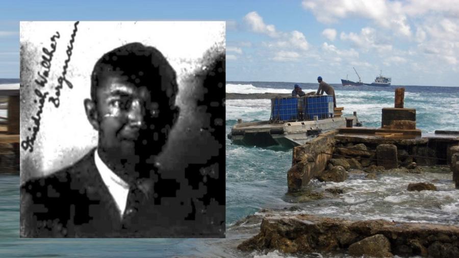 A Nazi spy in the Cook Islands?