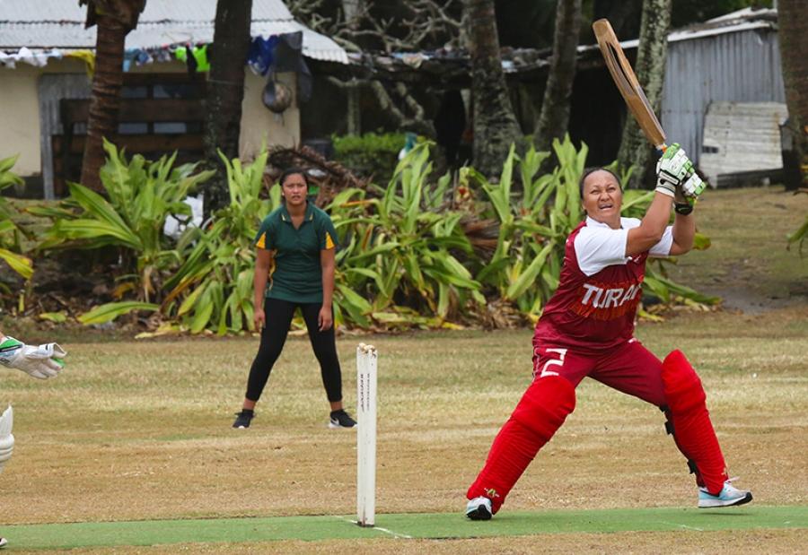 Big hitters set cricket records
