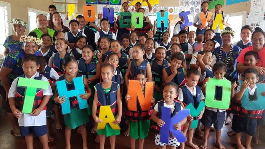 School receives 47 life jackets