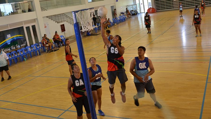 Future netball stars emerge at Cook Islands Games 2020