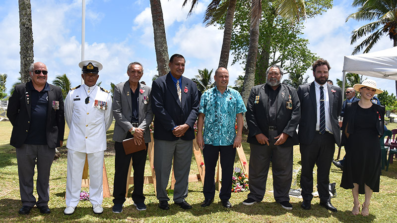 'Cook Islanders have served bravely and with distinction'