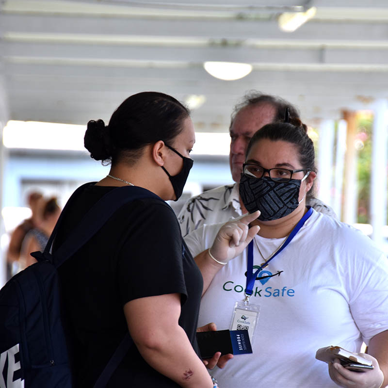 Three arrivals from Friday's flight placed in quarantine