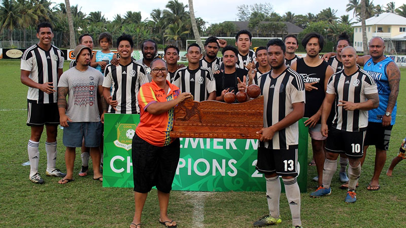 Tupapa are champions once more