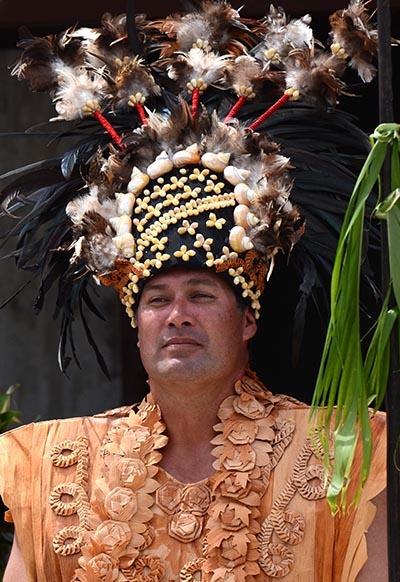 The crowning of Makea Vakatini Phillip Ngamatoa Ariki