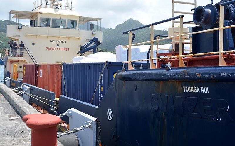 Barge crew return negative Covid tests