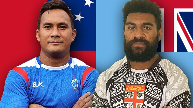 The battle of Pacific heavyweights